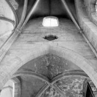Elévation du mur ouest du bras nord du transept (1979)