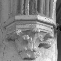 Cul-de-lampe à la retombée nord de l'arc doubleau intermédiaire du choeur (2000)