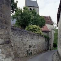 L'église dans son environnement vue du sud (2008)