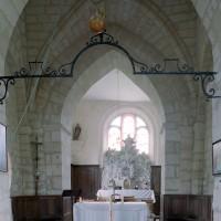 La travée du clocher vue vers l'est (2008)