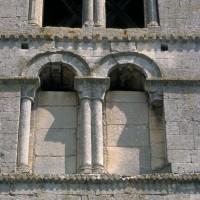 Le premier étage du clocher vu du sud (1996)
