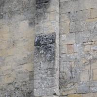 Contrefort plat roman à la façade ouest (2017)