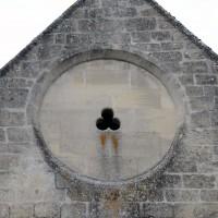 L'oculus du mur pignon du chevet (2017)