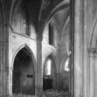 La nef primitive vue vers l'ouest (1994)