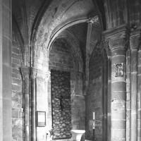 La chapelle sud-est, de la fin du 12ème siècle (1994)