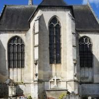 Le chevet de l'église (2016)