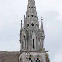 Le clocher du 19ème siècle vu de l'ouest (2016)