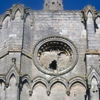 La partie supérieure de la tour sud vue depuis le sud (1995)