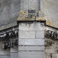 Décor à l'angle sud-ouest de la tour sud (2016)