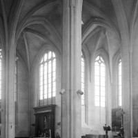 Le choeur et l'abside vus vers le nord-est (1994)