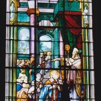 Vitrail de la Vie de saint Nicolas (2003)