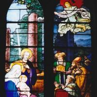 Vitrail de la Vie du Christ (2003)