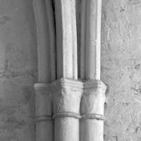 Retombée des voûtes au mur nord de la chapelle nord (1997)