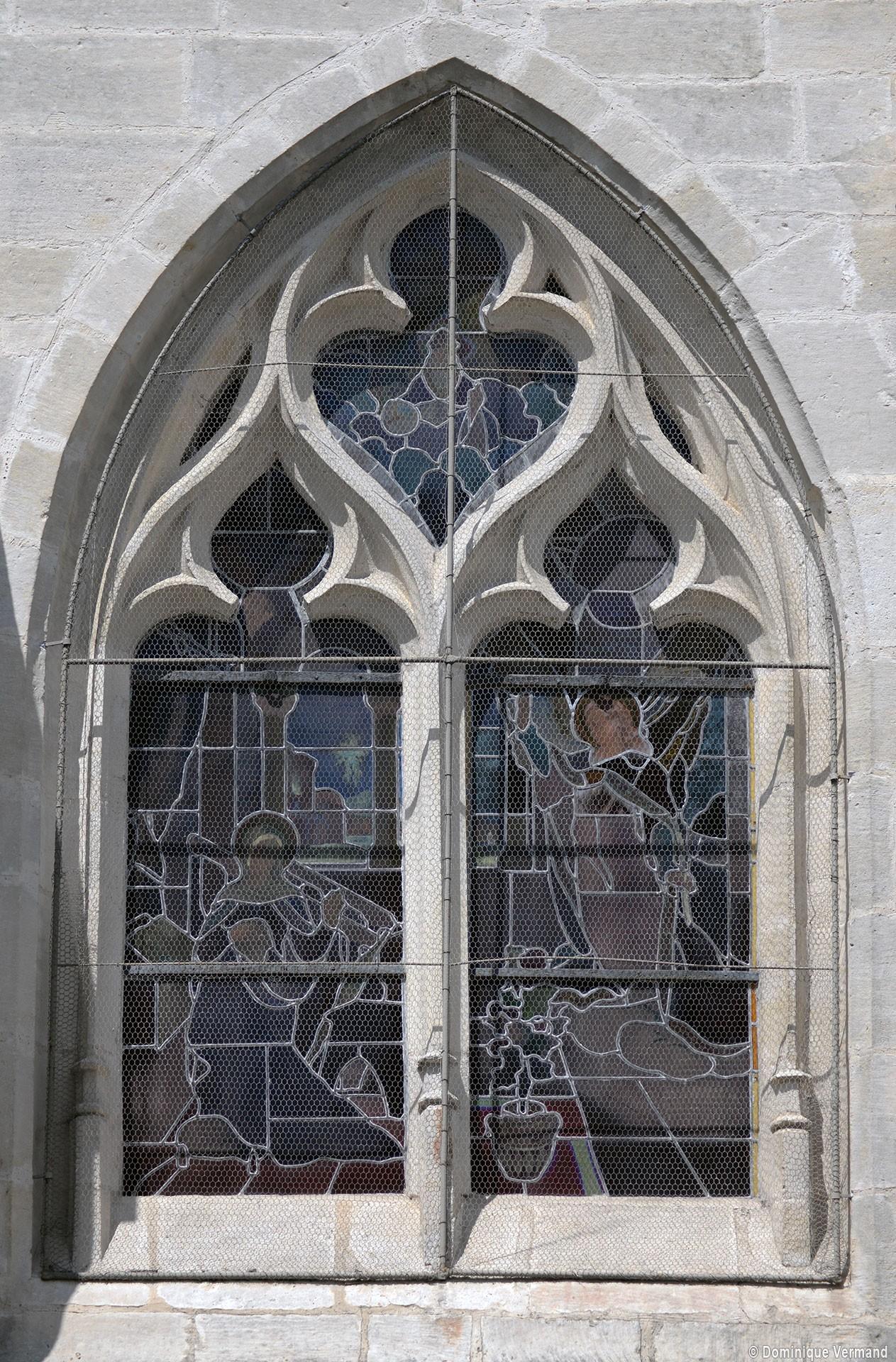 Crouy en thelle glise saint jean baptiste eglises de l for Fenetre gothique
