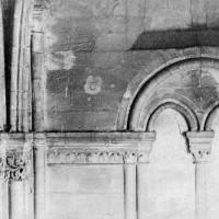 Baie de la fausse tribune de la nef avant sa démolition