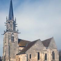 L'église vue du sud-ouest (1997)