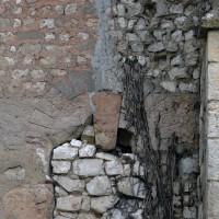 Porte romane au mur nord de la nef (2016)