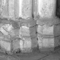 Bases de l'ancien choeur du 13ème siècle (1995)