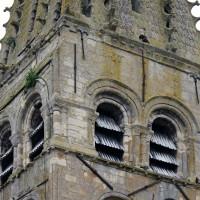 L'étage du beffroi du clocher vu du nord-ouest (2016)