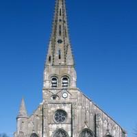 L'église vue de l'ouest (1995)