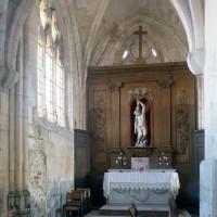 La chapelle nord vue vers le nord-est (1994)