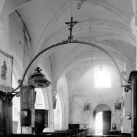 La nef vue vers le sud-ouest (1994)