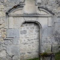 Le porte ouest du bas-côté sud (2016)