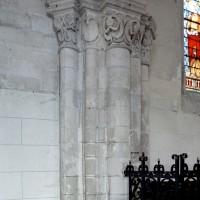Retombées nord-est de la voûte de la première travée de l'ancien choeur du 12ème siècle (2008)