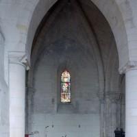 La première travée de l'ancien choeur du 12ème siècle vue vers le nord (2008)
