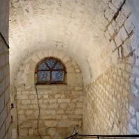 L'accès sud de la crypte (2016)