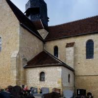 Le bras sud du transept et le choeur vus du sud-est (2016)