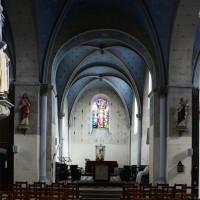 La croisée du transept et le choeur vus vers le nord-est (2016)