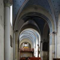 L'intérieur de l'église vu vers le nord-ouest (2016)