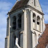 Le clocher vu du sud-est (2016)