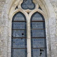 Fenêtre de la fin du 13ème siècle au nord du choeur (2016)