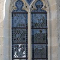 L'une des fenêtres sud du choeur (2016)