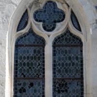 La fenêtre sud de la première chapelle sud (2016)