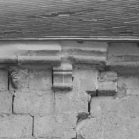 La corniche du mur gouttereau nord du choeur (1995)