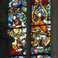 Le vitrail de l'Arbre de Jessé (1995)