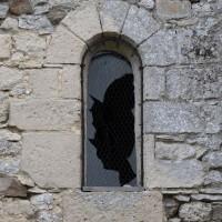 La fenêtre nord de la première travée du choeur (2016)