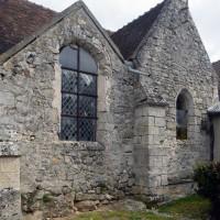 Vue partielle de l'église depuis le sud-ouest  (2016)