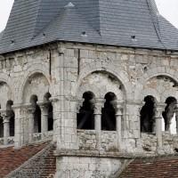 L'étage du beffroi du clocher vu du nord-ouest (2003)