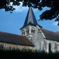 L'église vue du sud-ouest (1970)