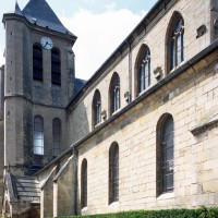 Vue partielle de l'église depuis le sud-est (2000)