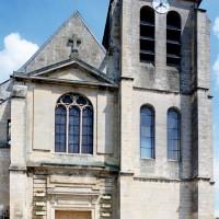 Vue partielle de la façade ouest (2000)