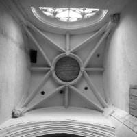 La voûte de la travée du clocher (1997)