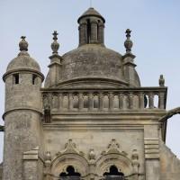 Le dôme du clocher vu du sud (2018)