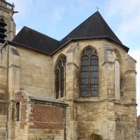 Le transept et le choeur vus du sud-est (2018)