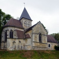 L'église vue du nord-est (2017)