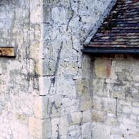 Jonction de la nef et du choeur, côté sud (1973)
